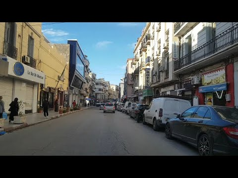 Driving in oran Algérie 25 04 2019 وهران الجزائر
