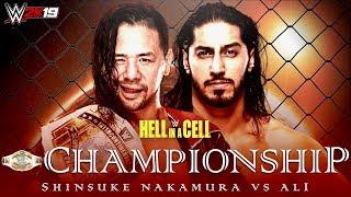 FULL MATCH - Mustafa Ali vs. Shinshuke Nakamurs : IC Championship Match - HELL IN A CELL 2019