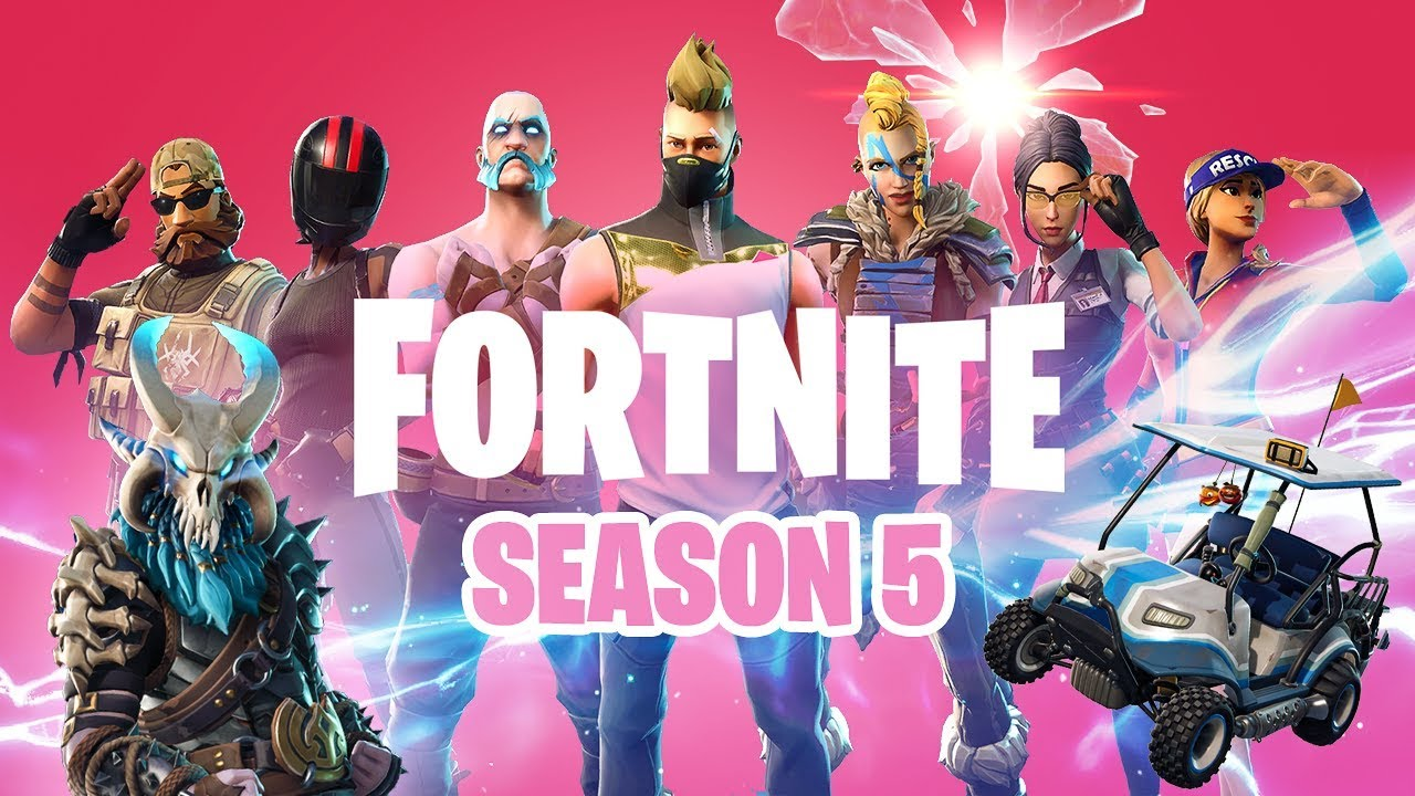 FORTNITE SEASON 5 is HERE!! - YouTube