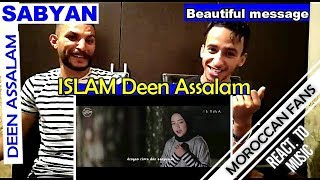 Arab React To Deen Assalam Cover By Sabyan Religion Of Peace Moroccan React
