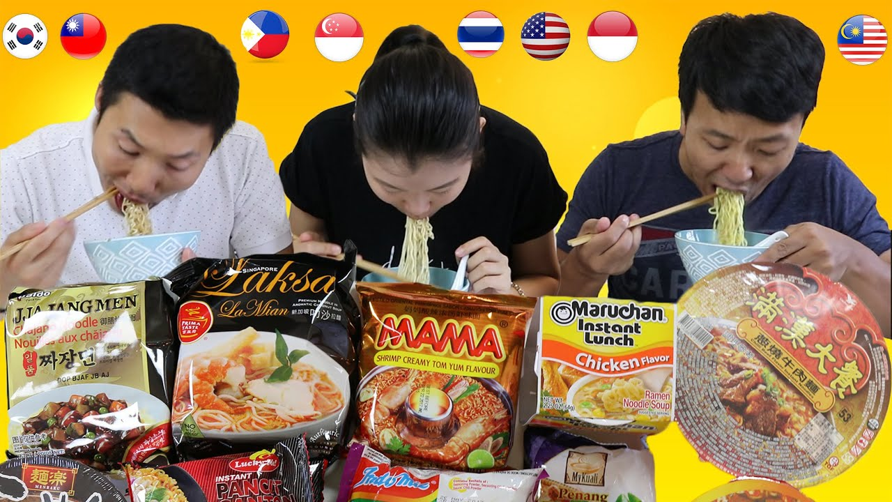 The correct way to eat instant noodles without harming our bodies
