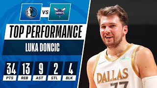 Luka Doncic Puts On An All-Around Show To Guide Mavericks!