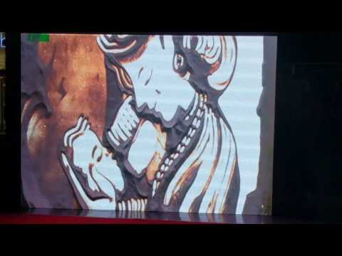 Sarvam Patel Drawing Women Empowerment Sand Artist In Inorbit Vashi Navi Mumbai