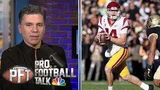 Sam Darnold: 'Turnover criticism is fair' I Pro Football Talk I NBC Sports
