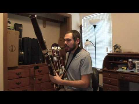 Bassoon Single Reed Mouthpiece Demo
