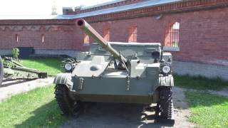 Авиадесантная противотанковая самоходная установка АСУ- 57.