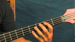 bass guitar songs lesson driver 8 R.E.M  eight