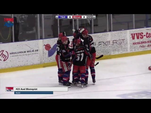 TVGOIS1 - Tyringe SoSS - Mörrum Hockey, höjdpunkter