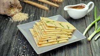 Как приготовить блины с луком - Рецепты от Со Вкусом
