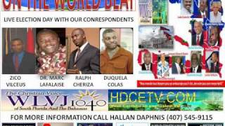 ON THE WORLD BEAT SPECIAL HAITI ELECTION DAY PART 3.wmv