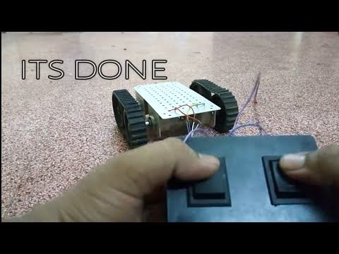DIY RACING ROBOT USING DPDT SWITCHES ....!!