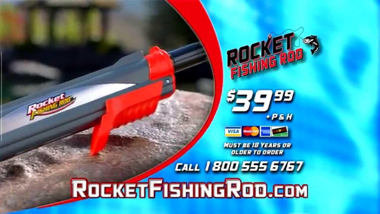 The rocket fishing rod youtube for The rocket fishing rod