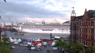 Repeat youtube video Cruise Ship Playing 'Seven nation army' and 'happy birthday' melody