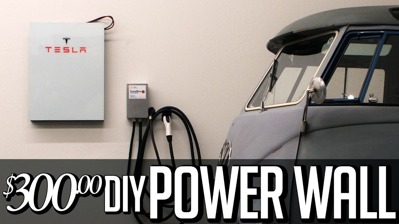$300 DIY Tesla Powerwall - Solar storage 18650 lithium ion home Battery