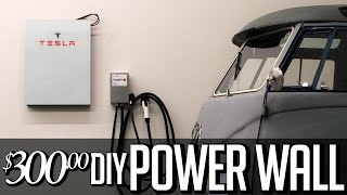 $300 DIY Tesla Powerwall - Solar-Speicher-18650 lithium-Ionen-home Batterie