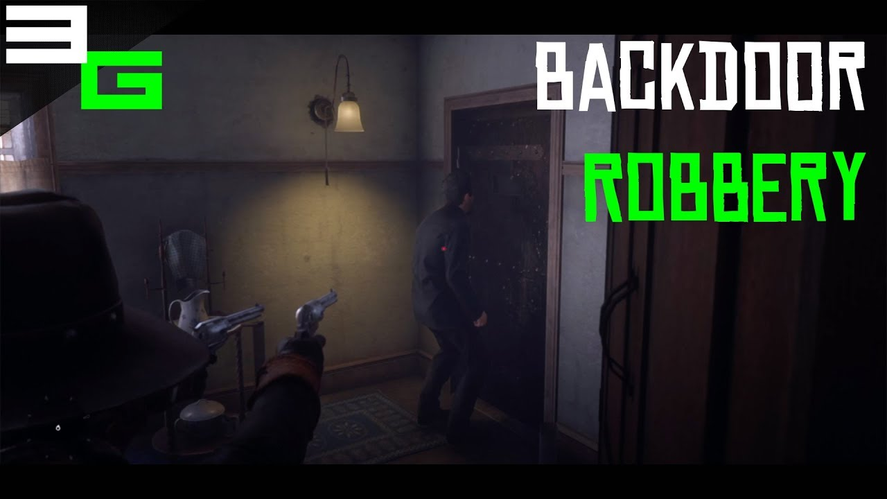 Red Dead Redemption 2 Backdoor Robbery Valentine Doc Ps4 Youtube