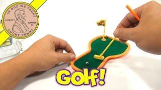 Finger Sports Miniature Desktop Golf Putting Set, Ja-Ru Toys