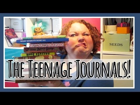 My Teenage Years in Journals