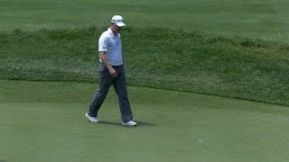 Video Troy Matteson confidently rolls in a 21-foot birdie putt at The Greenbrier download MP3, 3GP, MP4, WEBM, AVI, FLV Mei 2018