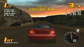 Vanishing Point Game Sample - Dreamcast