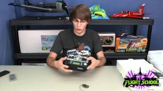 Futaba 7C FASST RC Remote Unboxing & First Review