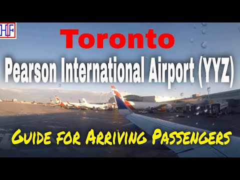 Train from Toronto Pearson International Airport (YYZ) to Toronto downtown Union Station | Ep# 1