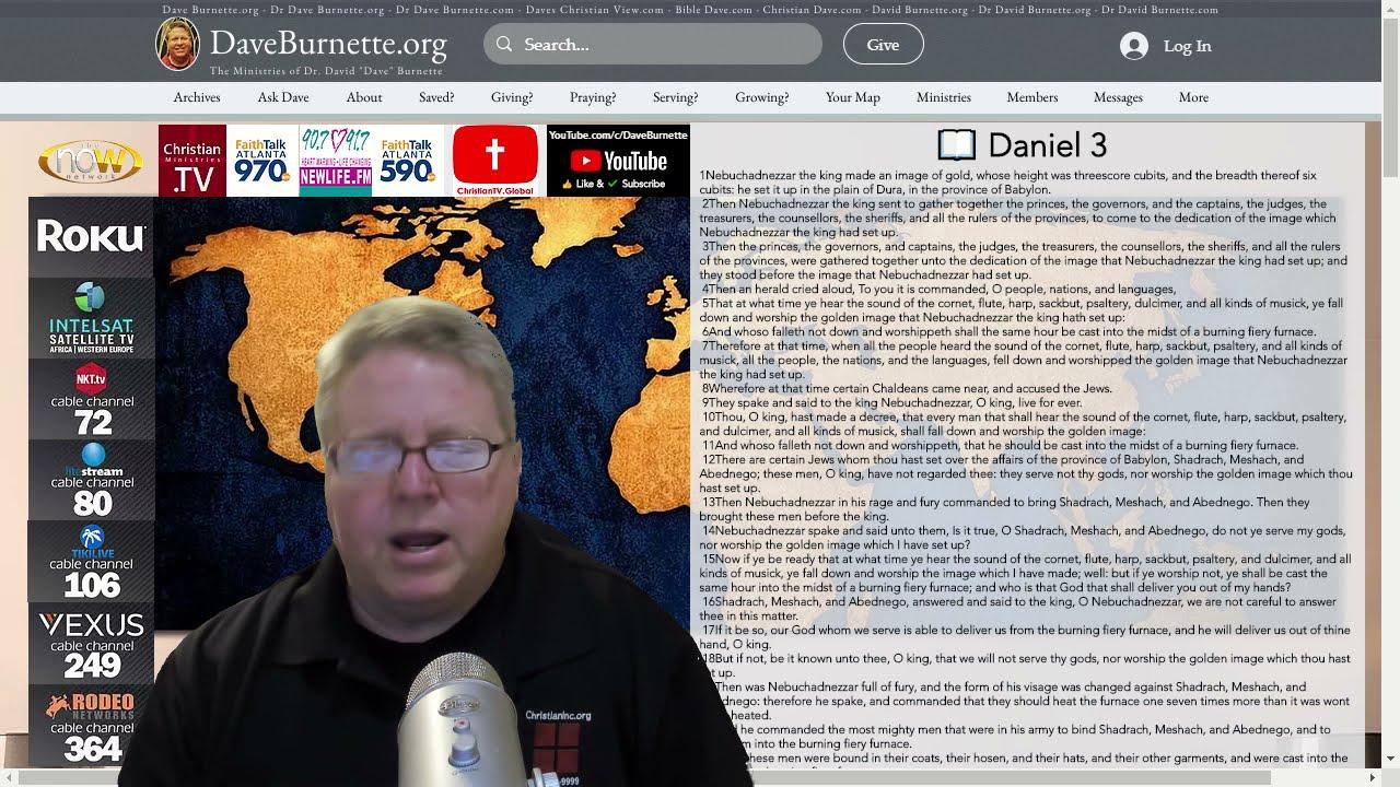 Daniel 3 ✒️ The Fiery Furnace