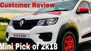 2018 Renault Kwid Long Term User Review in Tamil | Auto Zuto