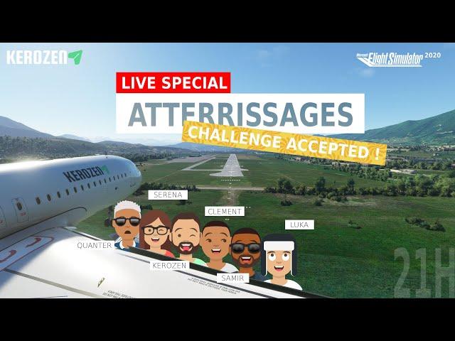 LIVE SPECIAL ATTERRISSAGES A320 Neo FS2020 ! Qui sera le meilleur ?
