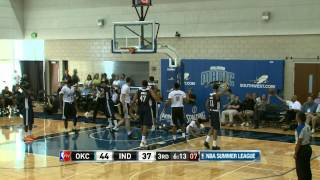 Oklahoma City Thunder vs Indiana Pacers Summer League Recap