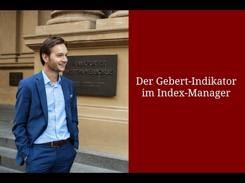 GEBERT-INDIKATOR IM INDEX-MANAGER | #Video 002
