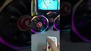 Fan led RGB  Red Dragon V10/2019