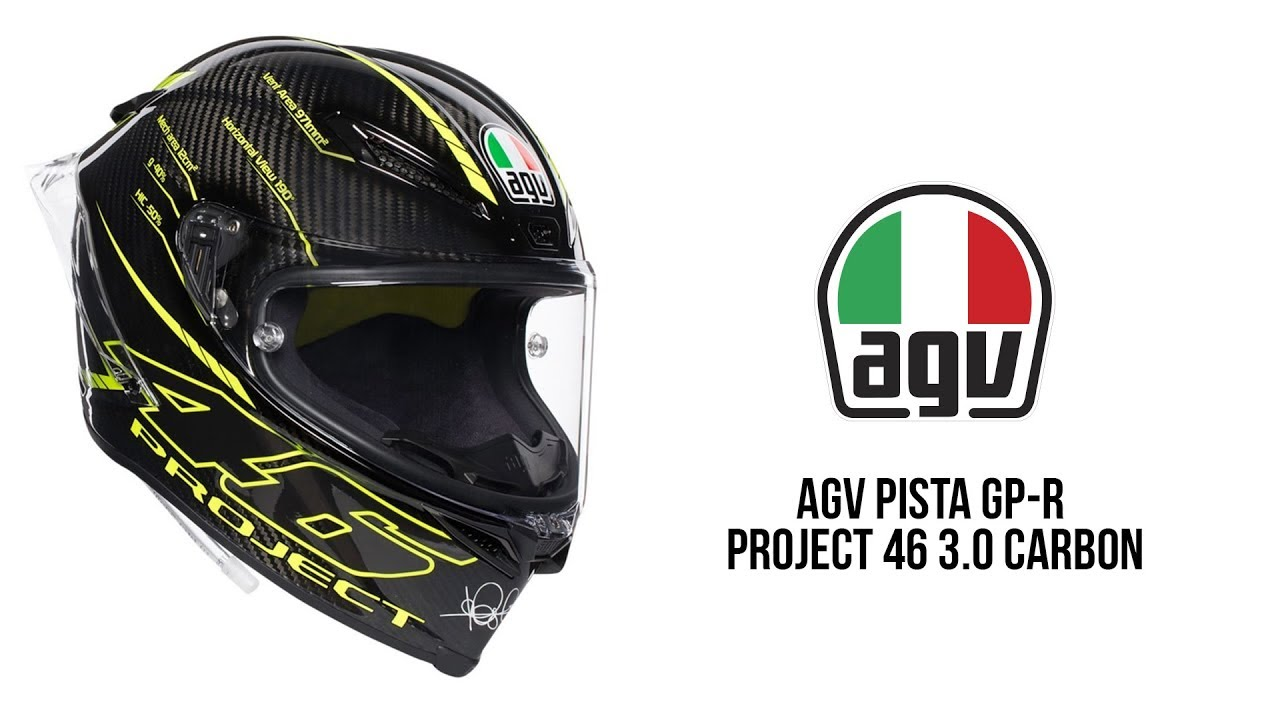 Agv Pista Gp R Project 46 3 0 Carbon Youtube