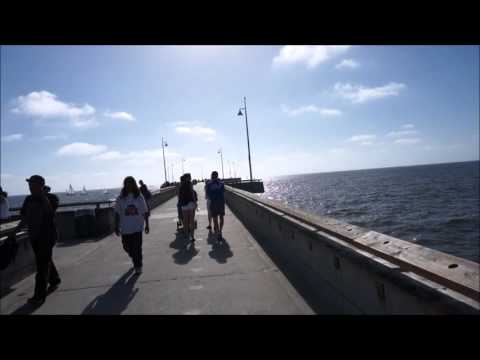 Fishing Pier Tour At Venice Beach California