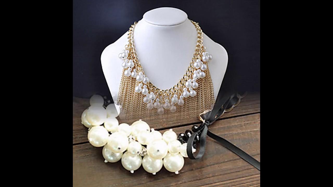 05fd4a101cfc Collares de perlas 2017. Moda para chicas