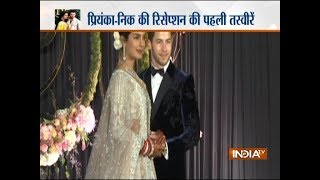 First picture of Priyanka Chopra and Nick Jonas at their reception at Taj Palace in Delhi