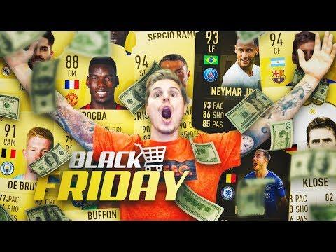 ESTE PACK OPENING ES UNA LOCURA!!   RONDA DE SOBRES BLACK FRIDAY FIFA 19!!