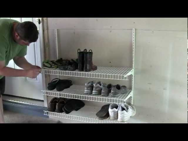 diy shoe rack youtube