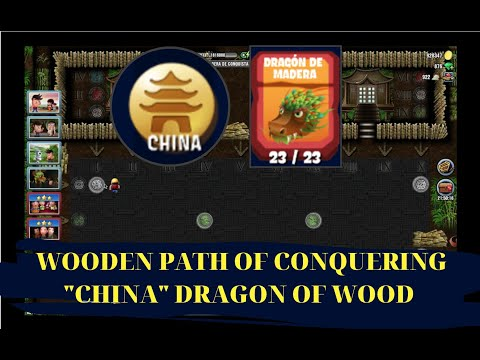 DIGGY'S ADVENTURE  WOODEN PATH OF CONQUERING (CHINA)