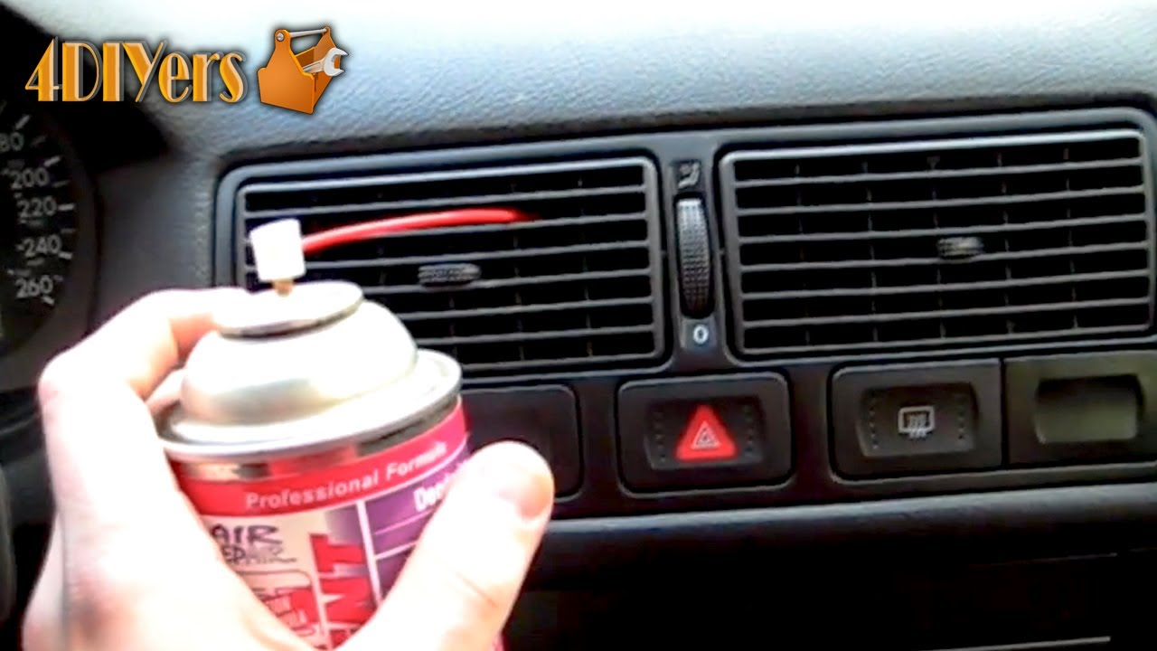 How to Deodorize a Car