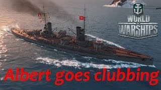 World of Warships: (Konig) Albert goes clubbing...