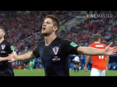 Rusia Vs Kroasia 2 : 2 (3:4) Adu Pinalti Piala Dunia 2018