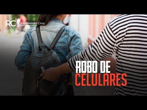 ¡ROBO DE CELULARES!
