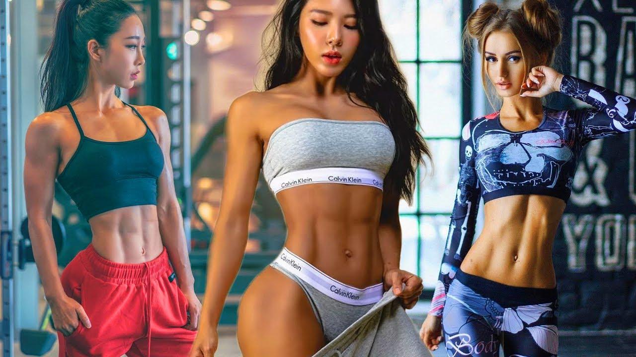 Korean Fitness Girls Workout Motivation 2020 - YouTube