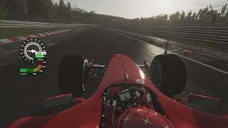 Assetto Corsa [PC] - Ferrari F2004 (ASR Formula) v1.1 at Nordschleife (Onboard & Replay)