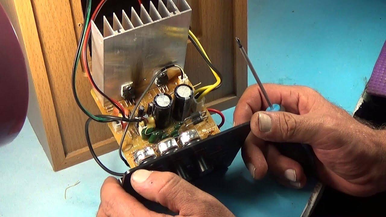 электрическая схема sven ms-1085