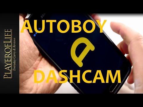BEST EDC Dashcam APP - AUTOBOY May 2016