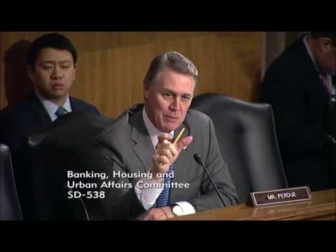 BTC Exchange Rigging - Mr. Perous - Feb 6th - Senate on Banking (bitcoin, investing & crypto assets)