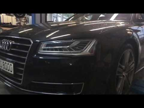 Audi A8 Facelift Umbau Youtube