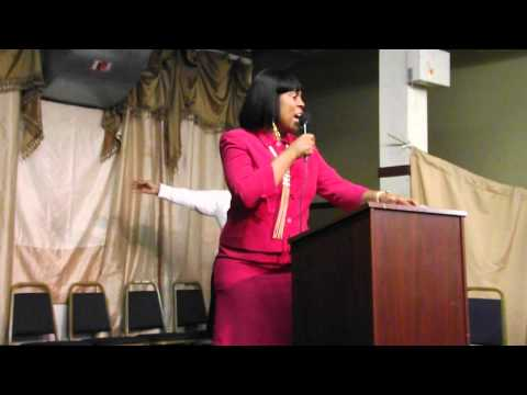Co- Pastor Geraldine Porterfield 1/13/2013